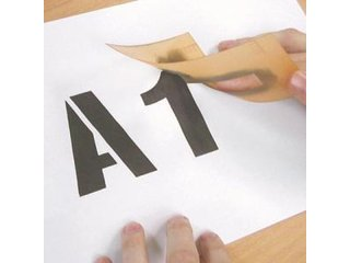 Stencil - A-Z and 0-9 (25mm - other sizes available)
